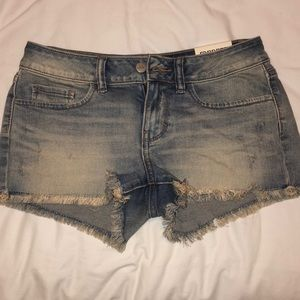 Denim Victoria Secret Shorts Size 2